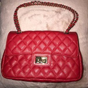 Red ZENITH handbag 👜
